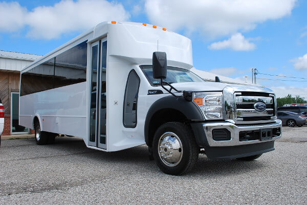 22 Passenger Party Bus Rental Little-Rock Arkansas