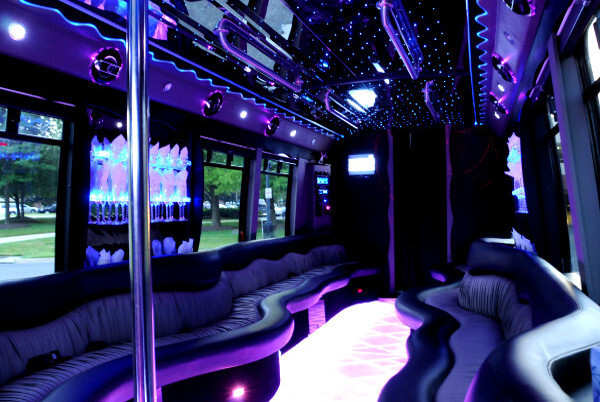 22 Seater Party Bus Little Rock AR