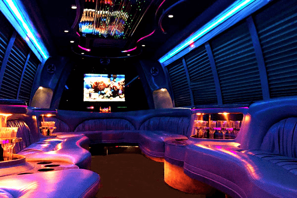 Little-Rock 18 Passenger Party Bus